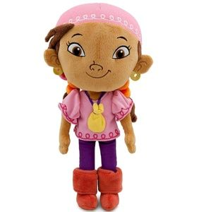 Izzy from Jake and the Pirates plush